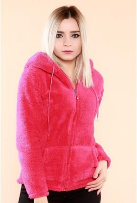 Zemin Giyim Kapüşonlu Kanguru Cepli Fermuarlı Sweatshirt-2175-2