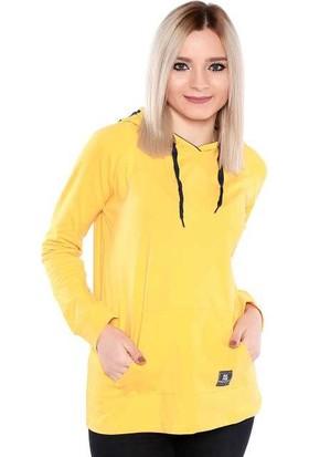 Zemin Giyim Kangru Cepli Armalı Sweat-7169