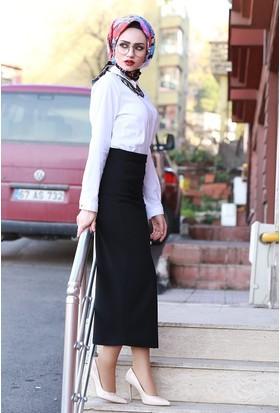 Zemin Giyim Kalem Etek Dalgıç Kumaş-3069