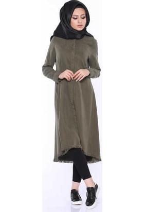 Zemin Giyim Kot Tunik-6170