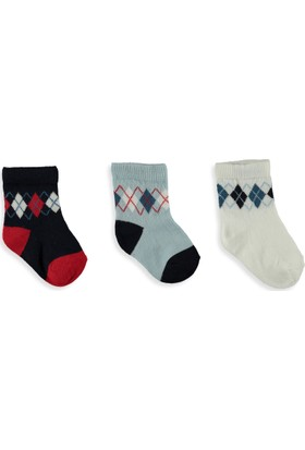 LC Waikiki Erkek Bebek 3'Lü Çorap