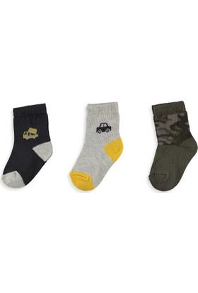 LC Waikiki Erkek Bebek 3'Lü Soket Çorap