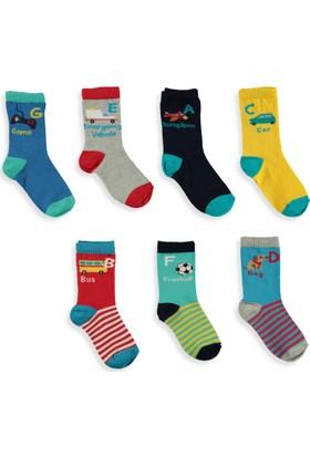 LC Waikiki Erkek Çocuk 7'Li Çorap