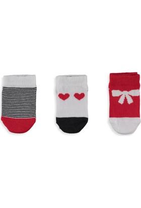LC Waikiki Kız Bebek 3'Lü Soket Çorap