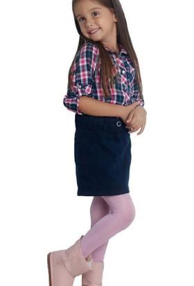 Penti Kız Çocuk Simli Glossy Külotlu Çorap