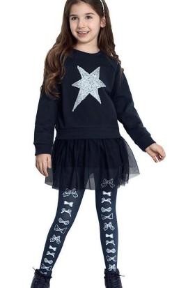 Penti Kız Çocuk Fiyonk Külotlu Çorap