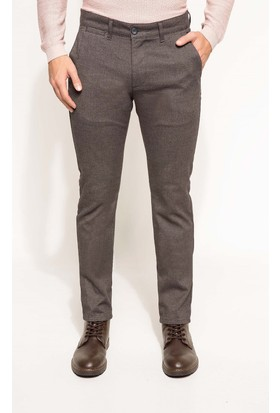 DeFacto Erkek Paco Regular Fit Pantolon Kahverengi