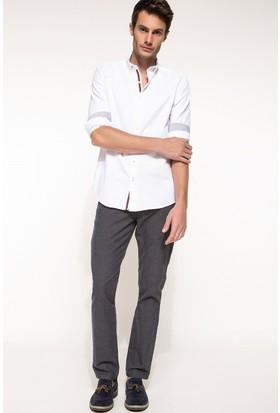 DeFacto Erkek Paco Regular Fit Pantolon Füme