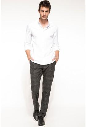 DeFacto Erkek Paco Regular Fit Pantolon Siyah