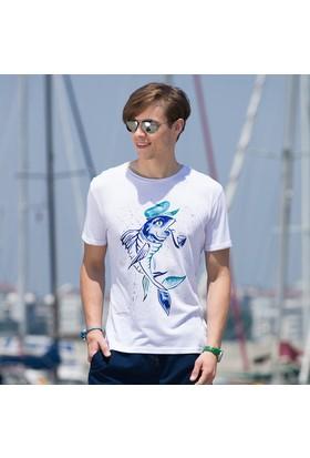 Biggdesign AnemosS Kaptan Balık Erkek T-Shirt