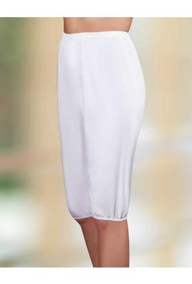 Şahinler Bayan Paçalı Penye İçlik Beyaz Mb002