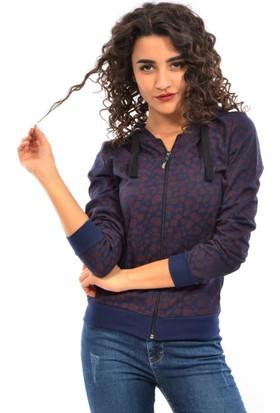 Dies Kadın Fermuarlı Sweatshirt