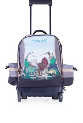 Rolerpack Çocuk Tekerlekli Sırt Çantası Siyah