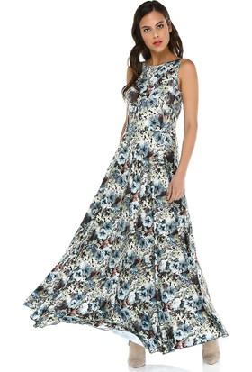 Quincey Kadın Sırt Dekolteli Maxi Elbise