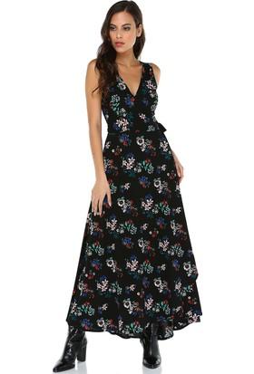 Quincey Kadın Çiçekli Anvelop Elbise