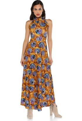 Quincey Kadın Desenli Elbise