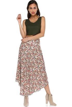 Quincey Kadın Maxi Çiçekli Etek