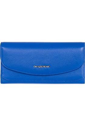 Cengiz Pakel Deri Cüzdan Cp65186 Mavi
