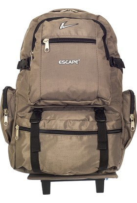 Escape Tekerlekli Sırt Çantası Esc123514 Vizon