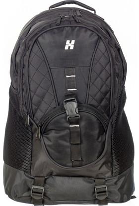 Hi-Bag Sırt Çantası Hcsrt150 Siyah Beyaz