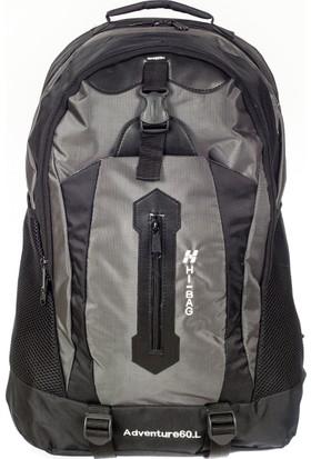 Hi-Bag Sırt Çantası Hcsrty180 Gri