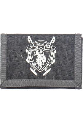 U.S. Polo Assn. Cüzdan Plcz7701 Füme