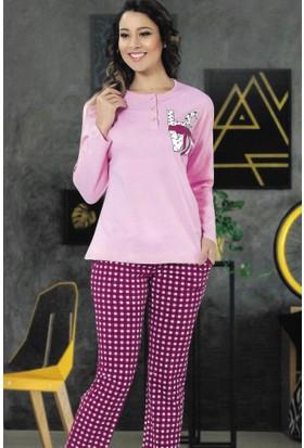 Modawek Pijama Takımı Pembe 4281