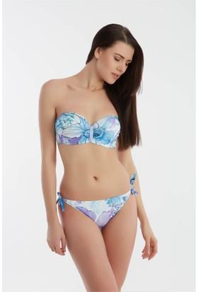 Sunset Straplez Çıkabilen Silikonlu Bikini