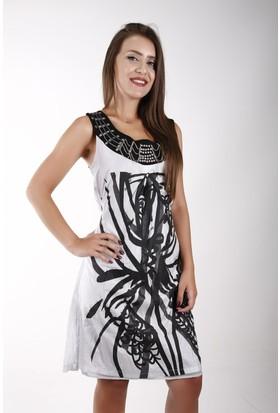 Sude Bayan Şifon Elbise 11125