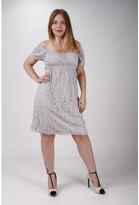 Sude Bayan Dantel Gece elbisesi 11148-2