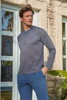Feyza 3201 Erkek Uzun Kol Pijama Takımı