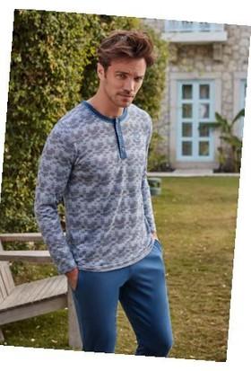 Feyza 3210 Erkek Uzun Kol Pijama Takımı