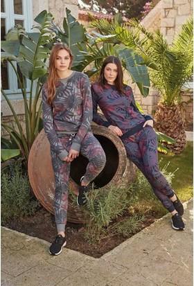 Feyza 3222 Kadın Pike Eşli Pijama Takımı