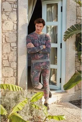 Feyza 3223 Erkek Pike Eşli Pijama Takımı