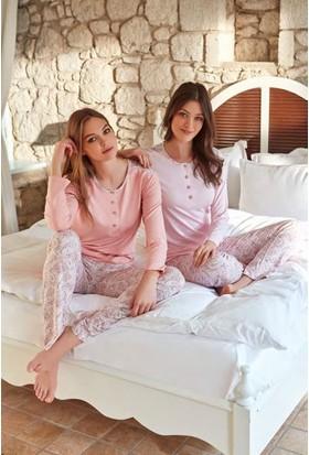 Feyza 3253 Kadın Uzun Kol Pijama Takımı