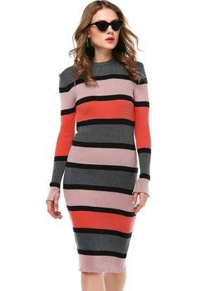 Nil Çok Renkli Elbise