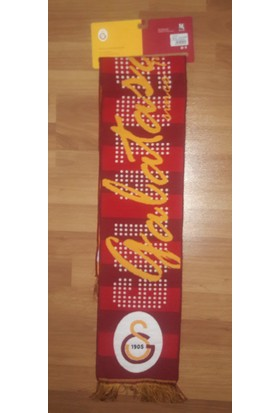 Galatasaray Dokuma Atkı Büyük