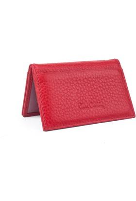 Pierre Cardin Deri Kartlık 088 Kırmızı