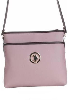 U.S. Polo Assn. Kadın Çapraz Askılı Çanta 17602 - Lila