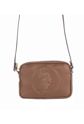 U.S. Polo Assn. Kadın Çapraz Askılı Çanta 17646 - Bronz