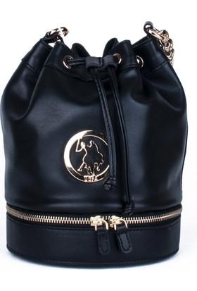 U.S. Polo Assn. Kadın Çapraz Askılı Çanta 17673 - Siyah