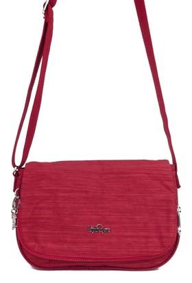 Kipling Kadın Çapraz Askılı Çanta 14303 - Kırmızı
