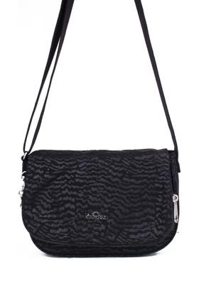 Kipling Kadın Çapraz Askılı Çanta 14303 - Siyah Desenli