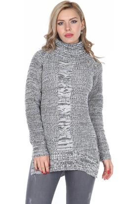 Moda Rota Nn-6322 Balıkçı Yaka Bayan Kazak