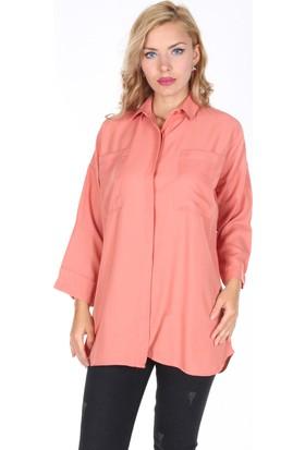 Moda Rota Qu-546 Rahat Kesim Bayan Gömlek