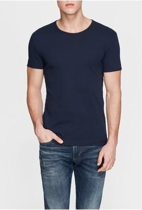 Mavi Lacivert Basic T-Shirt