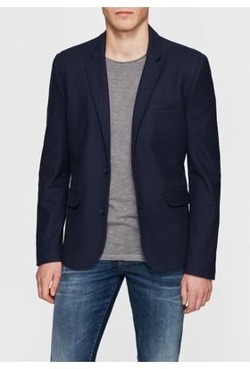 Mavi Lacivert Blazer Ceket