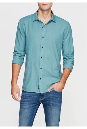 Mavi Yeşil Gömlek