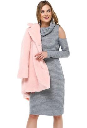 Sense 31063 Omuz Başları Açık Tek Plaka Triko Elbise