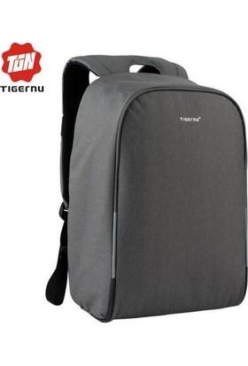 The Pack Tigernu TB3213HC USB'li Laptop Sırt Çantası - Koyu Gri